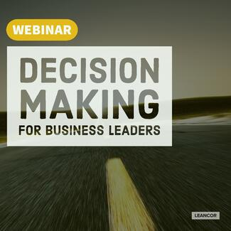 Decision Making Webinar June 2018 2