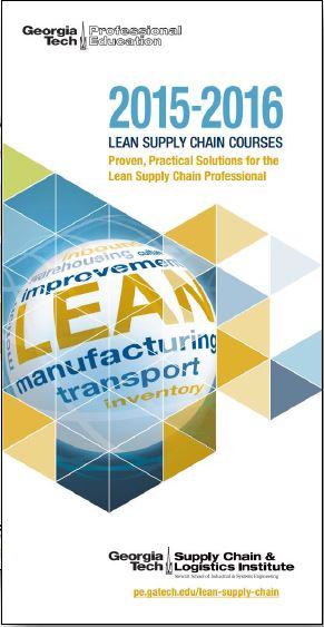 Download] GT Lean Supply Chain Series Brochure