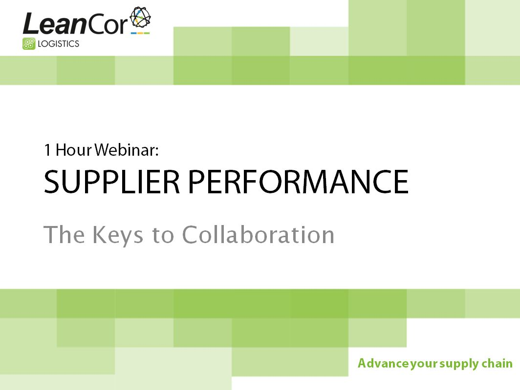 Supplier_Performance_Webinar
